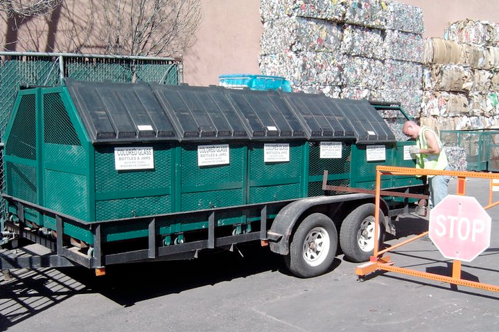 Trailers for Collecting Glass