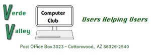 Verde Valley Computer Club Logo